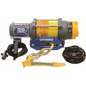 Superwinch TERRA 45 12V with synthetic rope