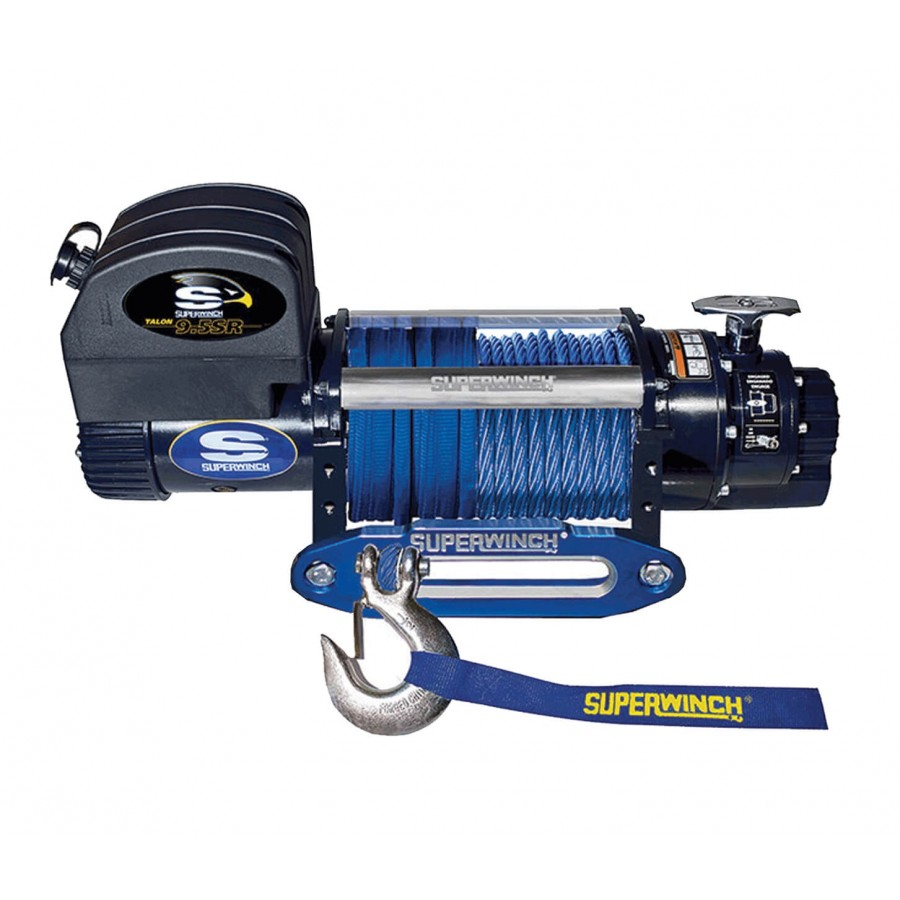 Superwinch TALON 9.5 SR 12V with synthetic rope