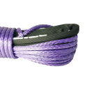 Violet rope 8 mm x 25 m. with thimble and loop, MBL 6.8T