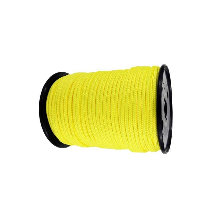 Lina syntetyczna 12 mm o podwyższonej wytrzymałości, żółta, MBL 15.9T