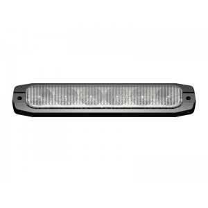 Lampa kierunkowa MicroLED 6 LED niebieska , powierzchniowa, 12/24V, R65