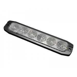 Lampa kierunkowa MicroLED 6 LED pomarańczowa , powierzchniowa, 12/24V, R65