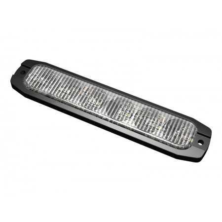 Lampa kierunkowa FIN6 LED pomarańczowa, 12/24V, R65