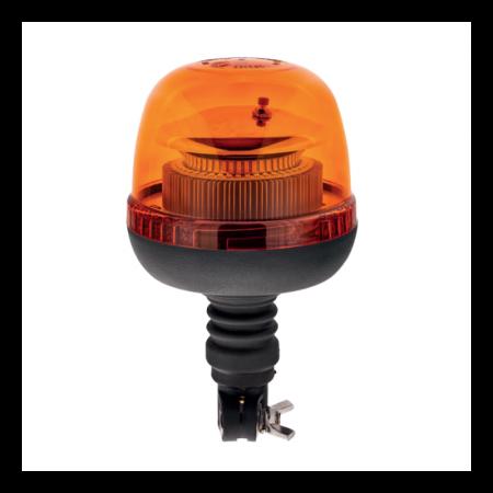 Pojedyncza lampa LAP LTB-040 LED, 12/24V, pomarańczowa, mocowanie Flexi-DIN, R65