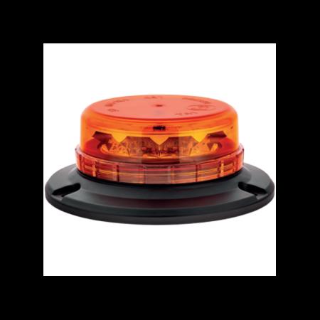 LAP LED LPB050 - Low Profile Beacons, 12/24V, 3 Point Fixing, Amber