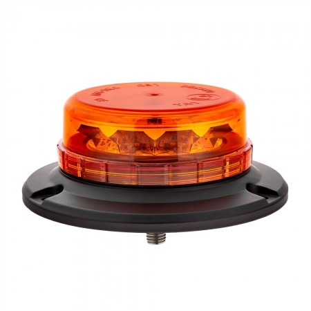 LAP LED LPB060 - Low Profile Beacons, 12/24V, 1 Point Fixing, Amber