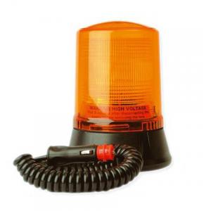 Pojedyncza lampa lotniskowa LAP223, 12V, mocowanie magnetyczne, pomarańczowa