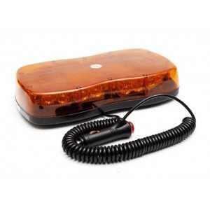 Lampa LED LAP1220CR65, mocowanie magnetyczne, pomarańczowa 12/24V, R65