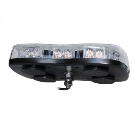 Lampa LED LAP1220CR65/SP, mocowanie 1-punktowe, pomarańczowa 12/24V, R65