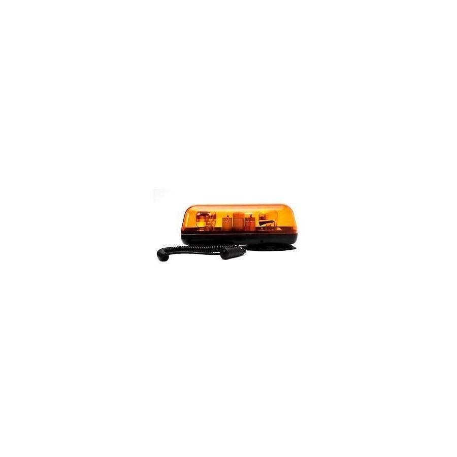 Lampa rotatorowa LAP CLB55SA - mini halogen - 12/24V