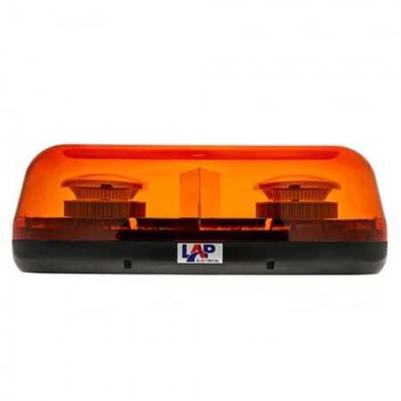 LAP LED CLBT162A/SP - Mini-Lightbar, 1 BOLT , Amber 12/24V R65