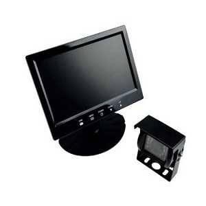 """System kamer cofania (monitor 7,0"""" z możliwością nagrywania obrazu, kamera tylna z diodami podczerwieni + kabel 20m)"""