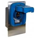 System Szybki Wyjazd KUSSMAUL Super 30 Auto Eject - wtyczka i gniazdo automatyczne 230V AC, 30A, 12V DC