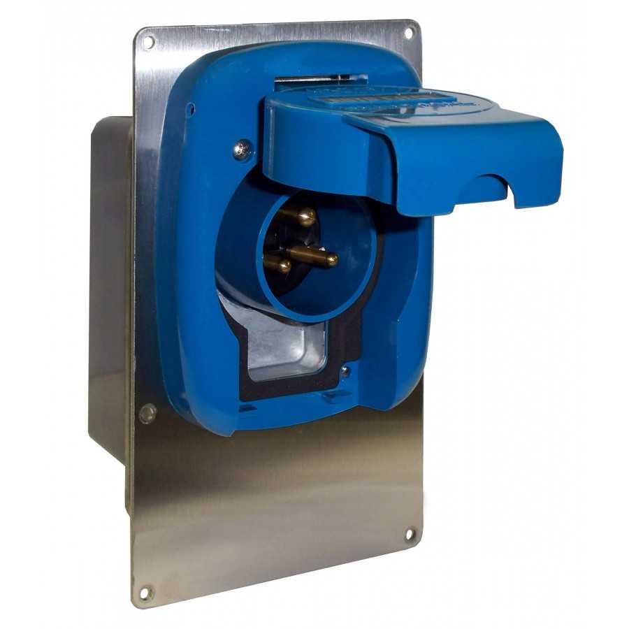 System Szybki Wyjazd KUSSMAUL Super 30 Auto Eject - wtyczka i gniazdo automatyczne 230V AC, 30A, 12VDC - wyprzedaż