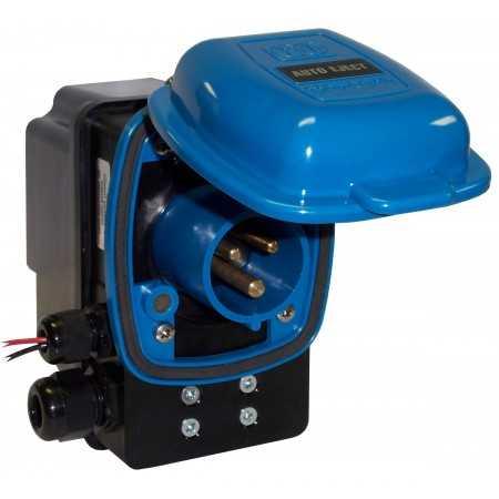 Szybki Wyjazd KUSSMAUL Super 16 Auto Eject - wtyczka i gniazdo automatyczne 230V AC, 16A, 12VDC