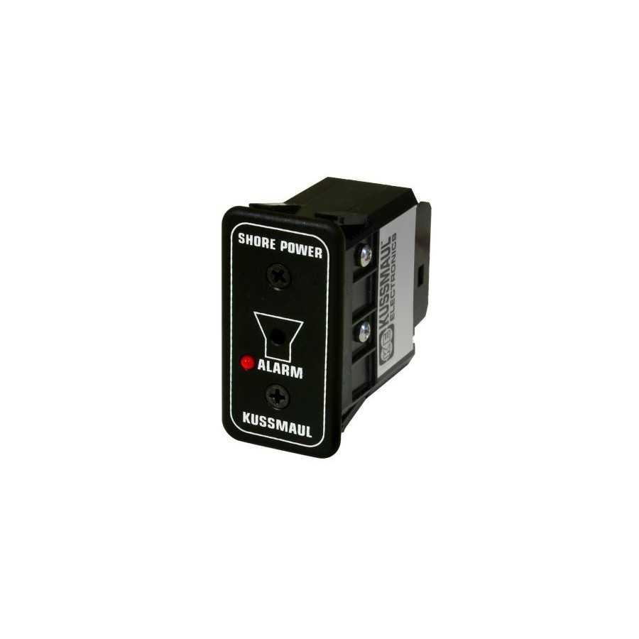 Wskaźnik wewnętrzny audio-wizualny podłączenia do zewnętrznego źródła energii, 12V