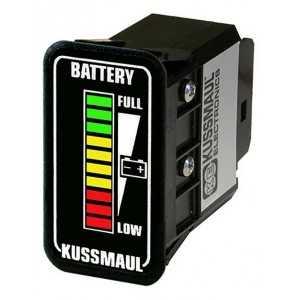 Wskaźnik MINI słupkowy wewnętrzny/kabinowy poziomu naładowania akumulatora 24V