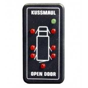 Wskaźnik otwartych drzwi samochodu 7 wejść