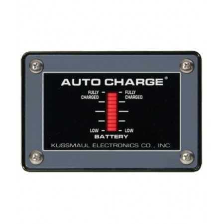 Wskaźnik słupkowy zewnętrzny poziomu naładowania akumulatora 12V